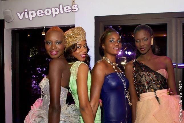 Les quatres belles qui brillent actuellement à Dakar
