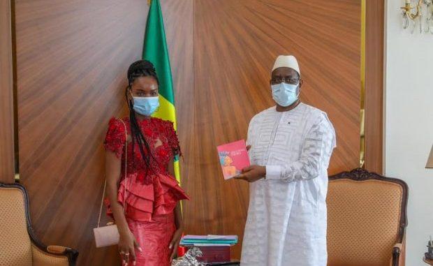 Audiences au Palais: Le Président Macky Sall a reçu Diaray Sow meilleure élève du Sénégal en 2018 et 2019