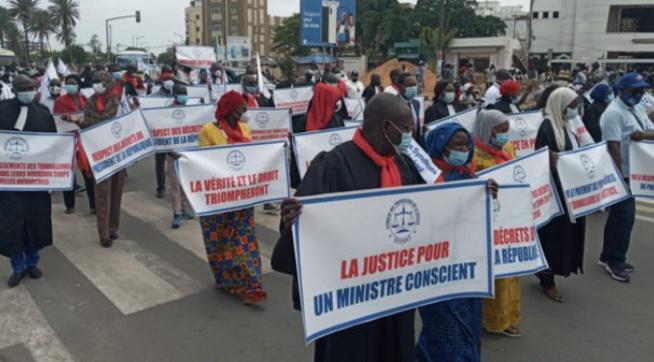 Paralysie de la Justice : le Sytjust soupçonné d'obéir aux mots d'ordre politiques de Pastef