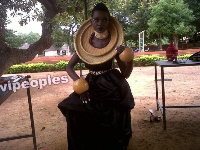 Voici Gift Enog, un mannequin qui monte à Lagos,she is so amazing!