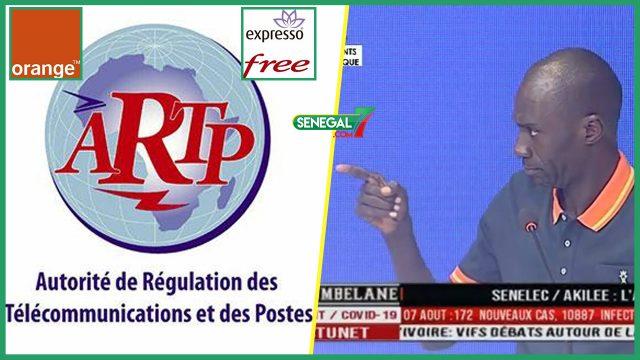 Omar Faye tire sur l'ARTP: « Li Orange Di Def Moko Validé Motax Mou Meune Ko Def… »