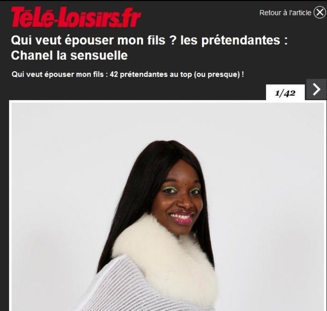 Trop de classe , la Iman de Chanel !!!