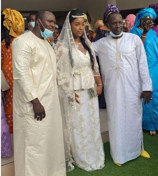 Contexte COVID-19 oblige ou grande simplicité : Nora Bâ, la fille du ministre Amadou s'est marié hier discrètement