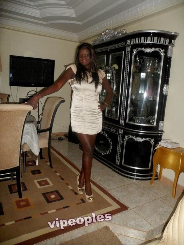 La fille du president de l'APS Mission 313 Bacar Diagne, le jour de son anniversaire