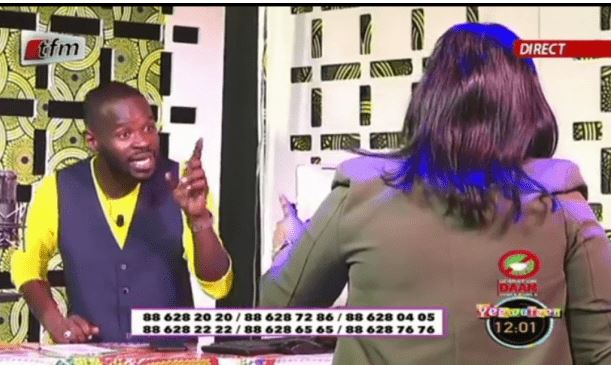 Gros dérapages en direct – Amina Poté à Pape Cheikh Diallo: « Pape lo guiss si adouna taate mo si dak »