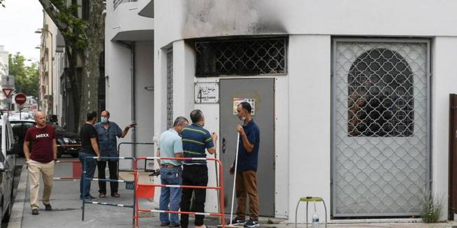 Lyon : La mosquée Essalem victime d'un incendie