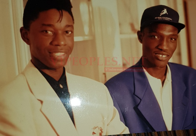 Souvenir ses deux artistes occupés le sommet de la musique Sénégalaise en 1994
