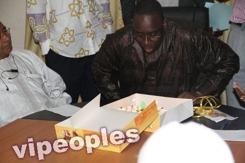 Joyeux anniversaire pour le président Macky Sall !