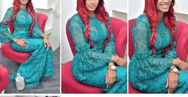 Marie Louise Diaw s'affiche dans une robe qui lui va comme un gant