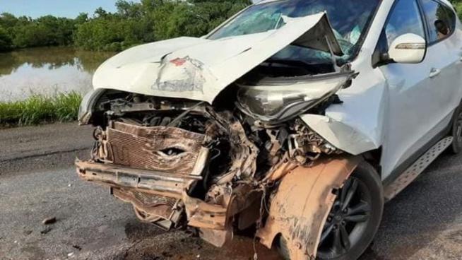 Mali : Les images de l'accident du convoi de l'imam Dicko