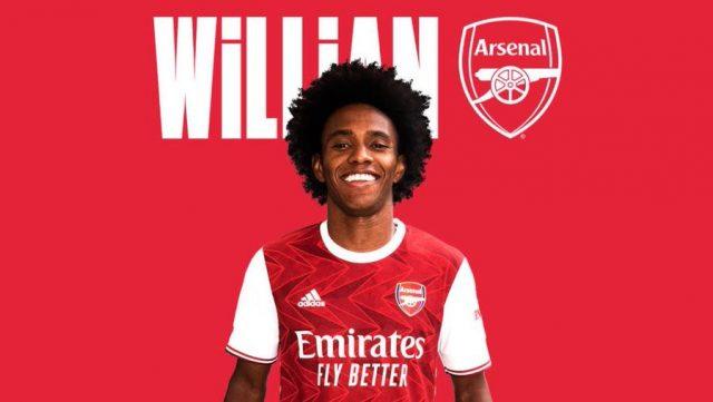 OFFICIEL : Willian signe à Arsenal