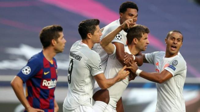 Vidéo-FC Barcelone vs Bayern Munich (1-4) : Le Bayern étrille le Barça rien qu'à la 30e minute de jeu