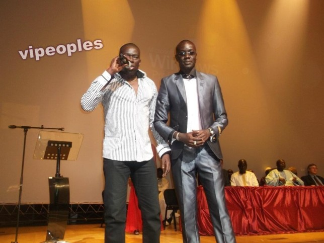 Assane Ndiaye et le riche journaliste M.Diop