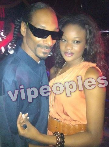Haby Taylor Sall et Snoop Dog!