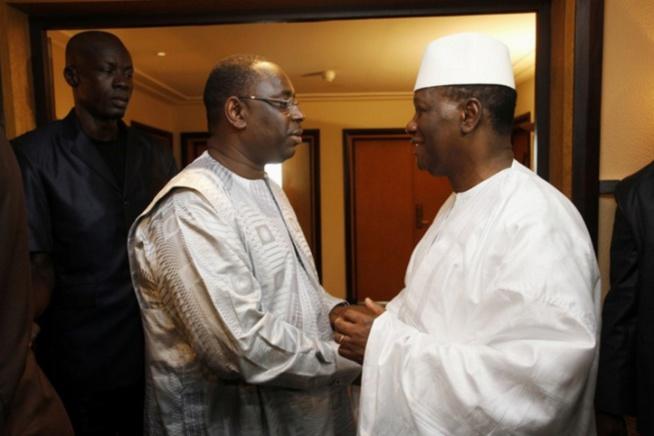 """Mali - Le coup d'""""éclat"""" de Macky Sall n'agrée pas ADO et Ouattara"""