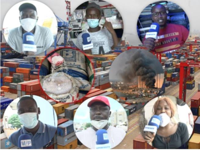 Réactions des sénégalais sur le nitrate d'ammonium exposé au port de Dakar