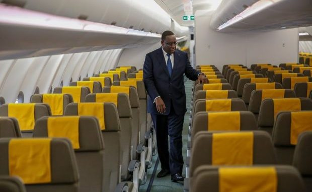 Air Sénégal,secouée par la pandémie liée au coronavirus,Macky Sall prend une grosse décision