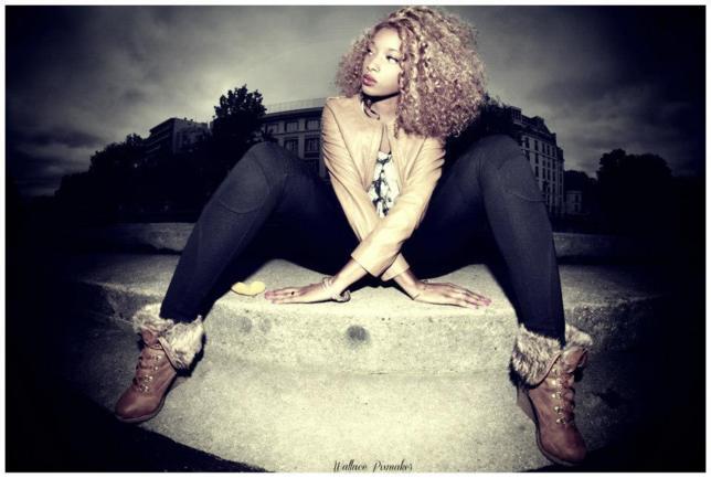 La belle sénégalaise Ayssé Ndiaye prend la pose!