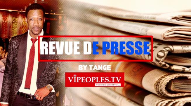 VIDEO REVUE DES TITRES PAR TANGE: A la une des quotidiens du lundi 24 aout 2020