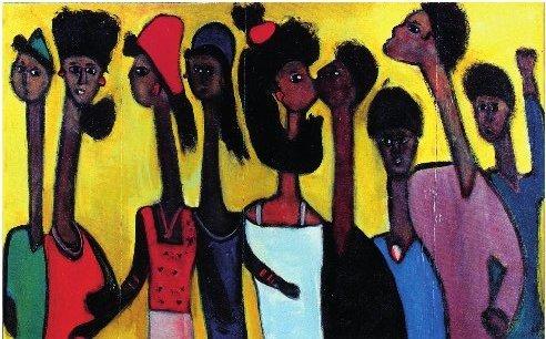 Ibrahima Kébé, artiste peintre