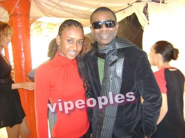 L'ex miss sénégal et Youssou Ndour