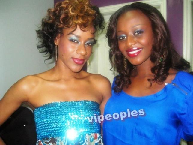 Diana Seck et Miss Sénégal Penda Ly