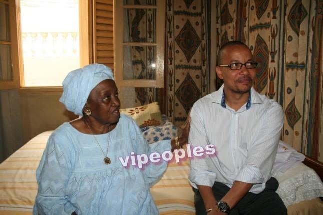 Souleymane Jules Diop très affectif envers les grands mères