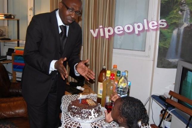 Cheikh Sidiya Diop fête l'anniversaire de sa fille