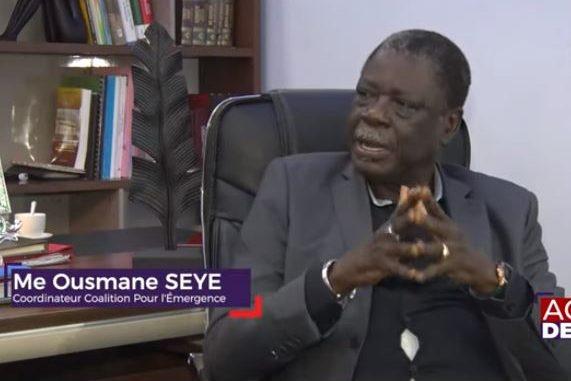 Me Ousmane Sèye : « Alpha Condé doit quitter le pouvoir … »