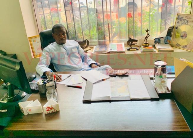 EN IMAGES: Voici Abdoul Ndiaye le nouveau directeur de la 2STV.