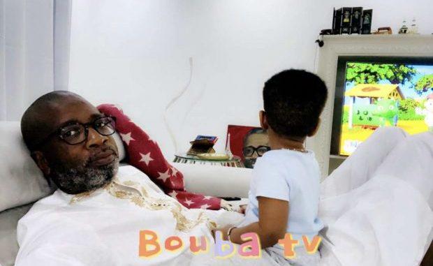 Bouba Ndour véritable papa poule, en toute complicité avec son fils