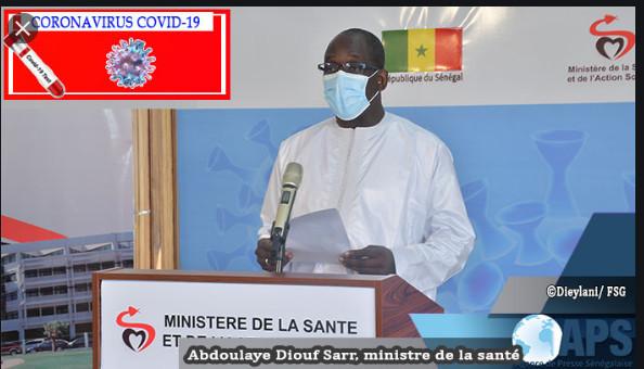 Covid-19: Le Sénégal enregistre 55 nouvelles contaminations, aucun décès signalé et 51 guéris