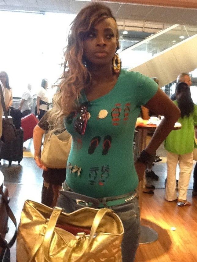 Ndéye Gueye a maigri