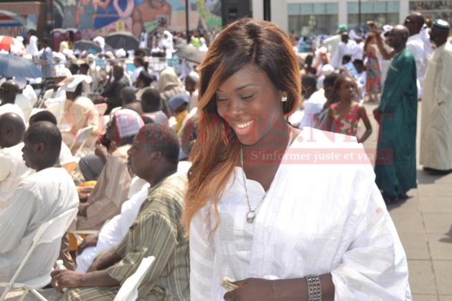 Voici Khoudia l'épouse de Khadim le frère de Pape Diouf