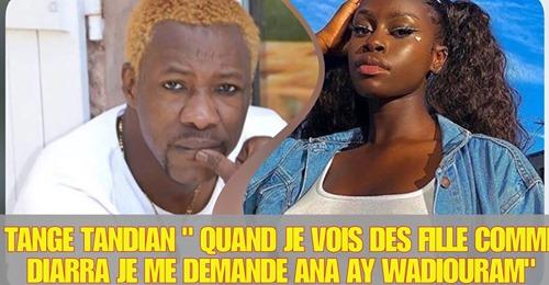 "Tange Tandian sur Mame Diarra de Sen Petit Galé : "" soumako kholé damay ladj ana niouko djour ndakh…"""