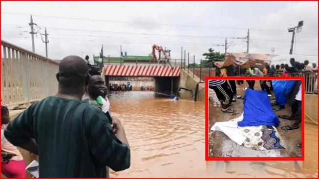 Urgent regardez comment les inondations ont dévasté la banlieue dakaroise
