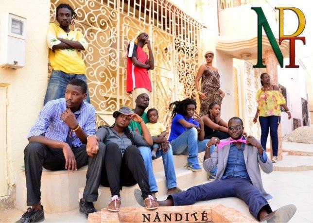 Voici l'equipe de Nandité Yi