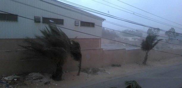 Un vent fort attendu sur les côtes Sénégalaises, à partir de Samedi