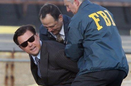 Leonardo DiCaprio arrêté par le FBI devant la caméra de Martin Scorsese