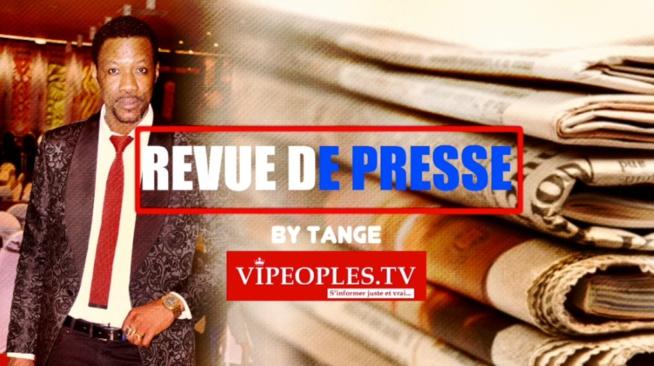 REVUE des titres par Tange la une des quotidiens du vendredi 11 septembre 2020