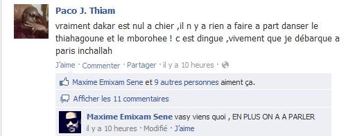 Paco Jackson fustige le Sénégal et Maxime Séne le soutient!