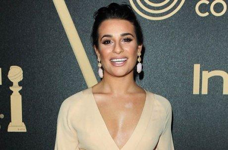 Lea Michele très décolletée et Olivia Munn tout en transparence