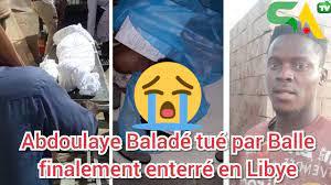Abdoulaye Balde, le Sénégalais tué en Libye enterré sur place: sa famille, très déçue, dénonce une négligence de notre politique étrangère