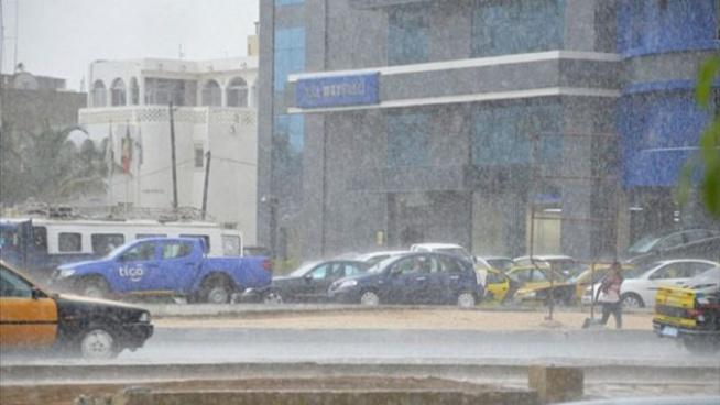 Mardi 15 septembre 2020 : Les prévisions de l'Anacim avec de la pluie dans ces 11 localités