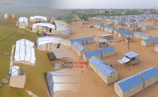 Inondations à Keur Massar: Les sinistrés déplacés dans des sites aménagés