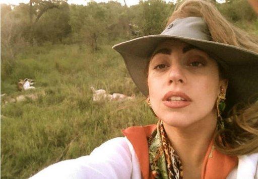 Lady Gaga : La star s'offre du temps libre en Afrique du Sud