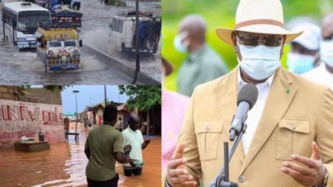 Inondations : Revivez la visite de Macky Sall à Keur Massar