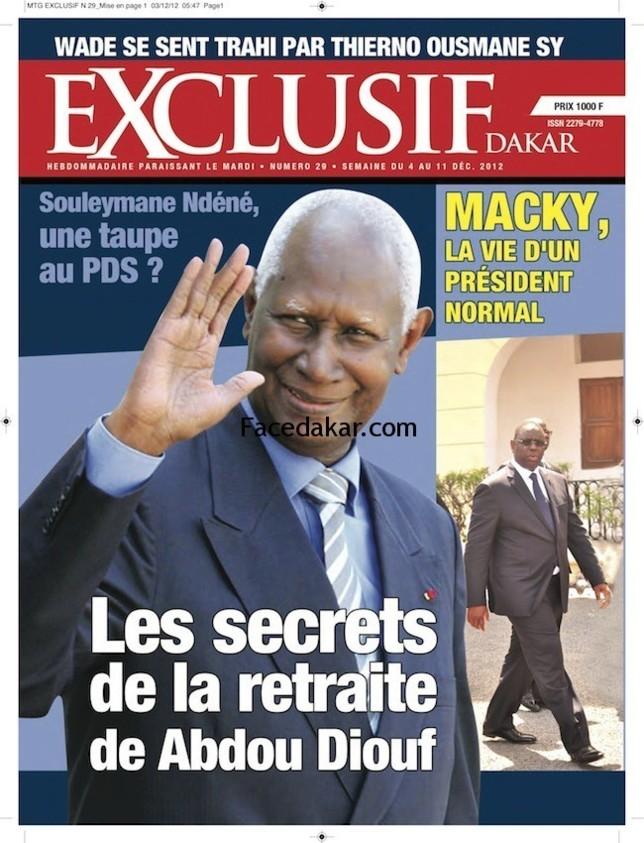 Qui finance ce magazine Exclusif Dakar ?
