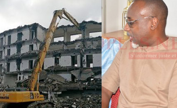 L'État du Bénin explique pourquoi il a détruit l'Hôtel de Yérim Sow.