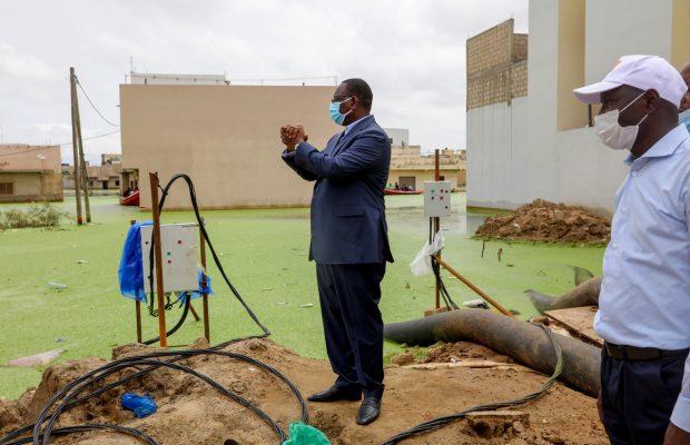 """Érection en département et enveloppe de 13 milliards F CFA - Keur Massar """"remercie"""" les inondations"""